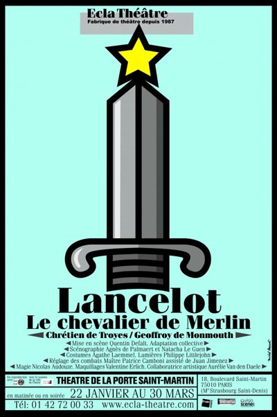 Lancelot th tre de la porte saint martin - Theatre porte saint martin ...
